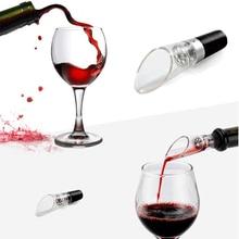 1 шт. Быстрый Графин Белый Красный бутылки вина капля стопа стопор демпинг Воронка аэратор Pourer