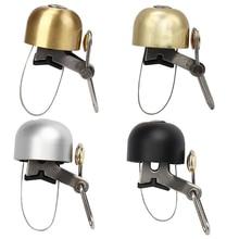 Campana de bicicleta de aluminio Aolly clásico Vintage seguridad alarma de manillar campana anillo sonido MTB Carretera bicicleta cuerno accesorios de ciclismo