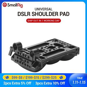 Image 1 - SmallRig DSLR Universal Schulter Pad mit 15mm RailBlock Speicher Schaum Licht Gewicht Kamera Schulter Kit 2077