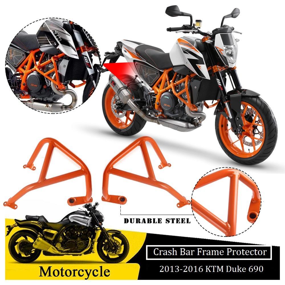 Left /& Right Motorcycle Frame Sliders Protector For Motor KTM Duke 125 200 390