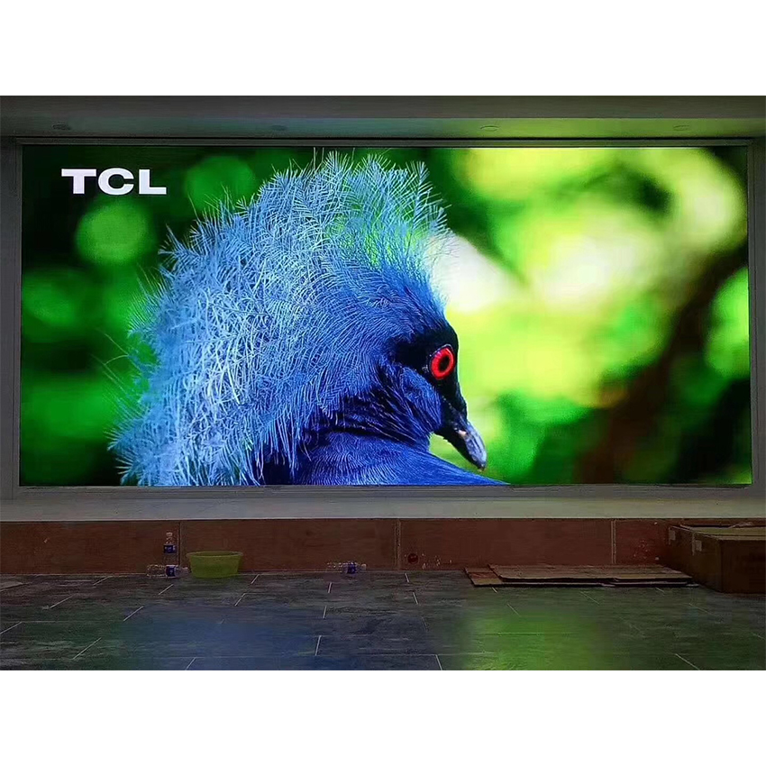 P3.91 128*128mm Die Cast Aluminum Cabinet Rgb SMD1921 Led Display Screen Rental Advertising Video Wall Panel Indoor