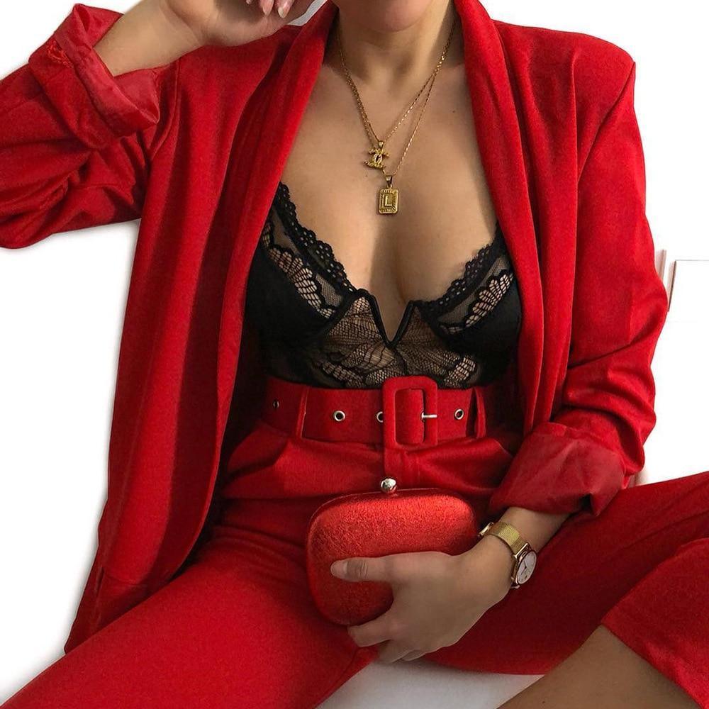 GVN Rocks V-Neck Mesh Lace Bodysuit