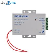 Jeatone System dostępu do drzwi sterowanie zasilaniem elektrycznym DC 12V 3A miniaturowy System zasilania zamek elektryczny System kontroli dostępu tanie tanio
