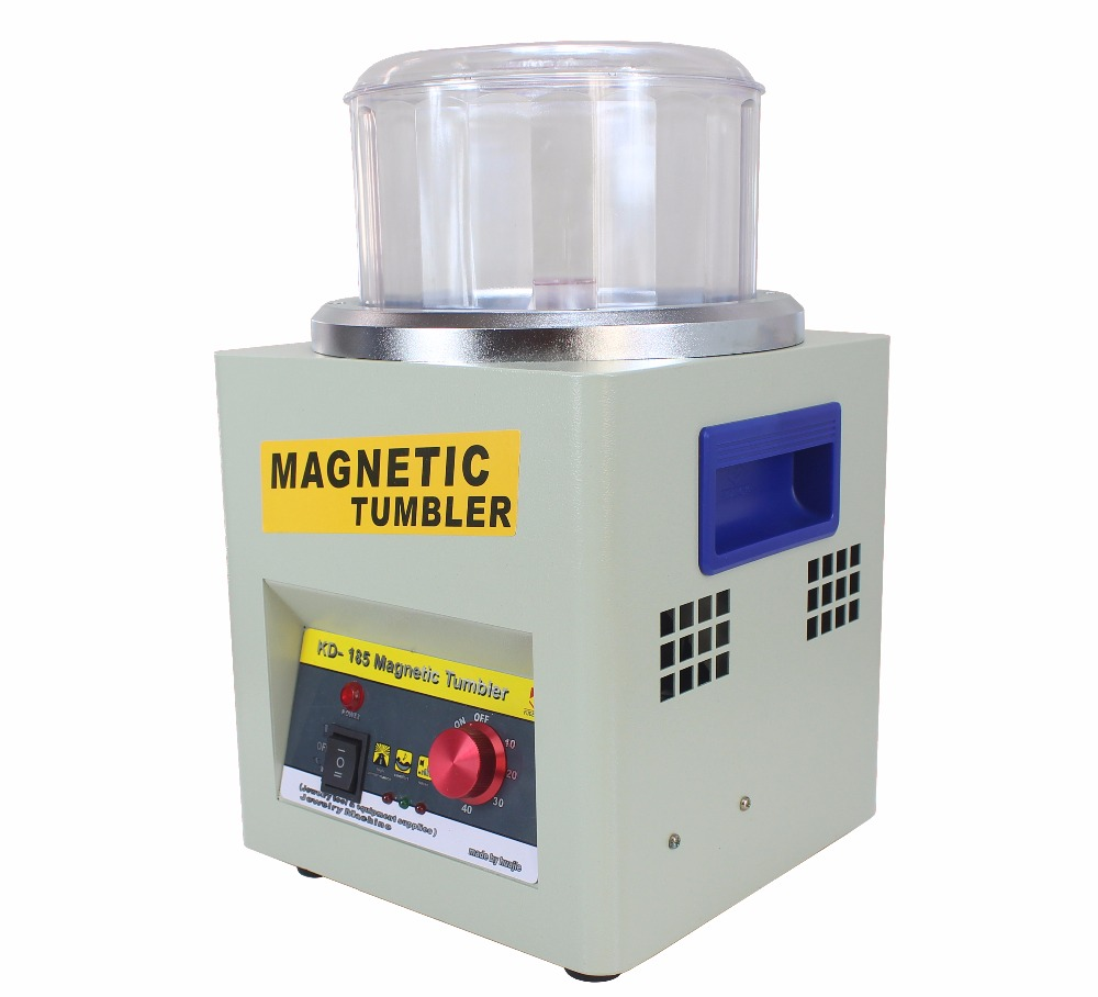 KT185 Magnetic Tumbler Jewelry Polisher 2000rpm Polishing Finisher With 220V Or 110V