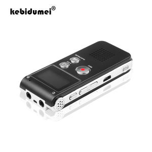 Kebidumei Mp3-Player Dictaphone Voice-Recorder Audio Stereo Mini-Usb Digital Flash 8GB