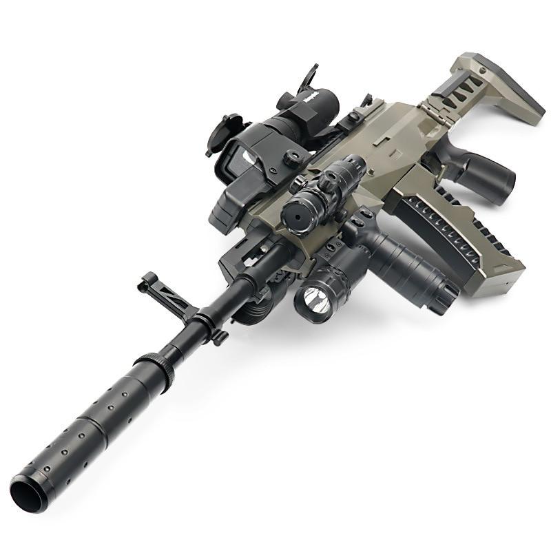 M762 AK15 винтовка под давлением, настоящее оружие, военный Винчестер, водяной пули, стрелочный пистолет, снайперская винтовка, телескоп, пулевое оружие, игрушка для мальчика|Наборы для сборки моделей|   | АлиЭкспресс