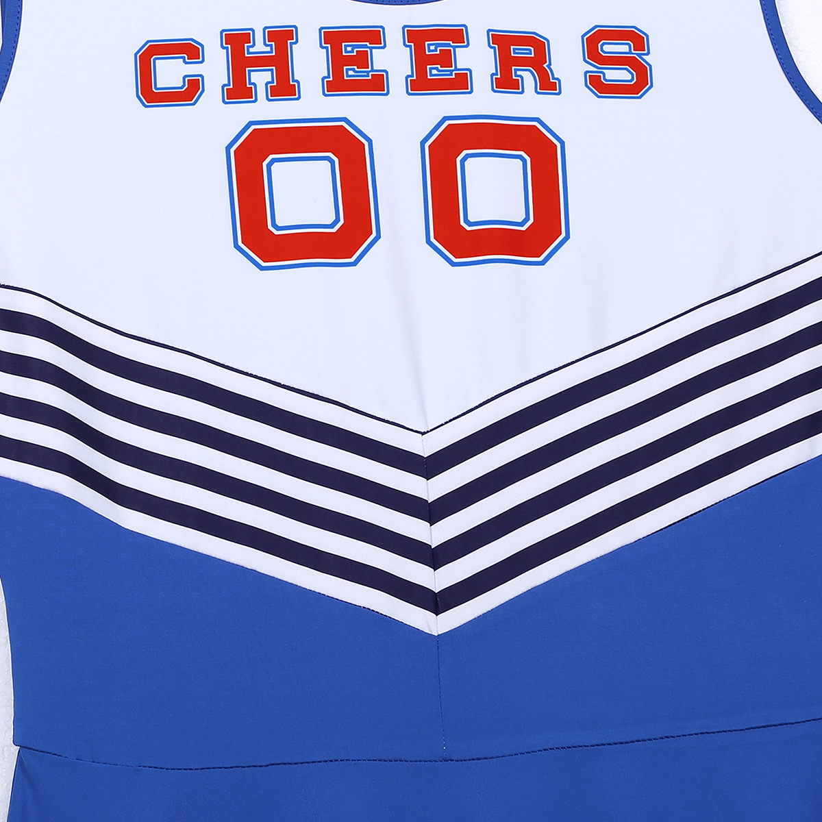 Image 5 - Men Sissy Dress Charming Cheerleader Cosplay Costume Dress Scoop Neck Sleeveless Pleated Fancy Short Dress Cheerleader Dress-in Sexy Costumes from Novelty & Special Use