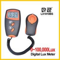 RZ 직업적인 디지털 방식으로 가벼운 미터 100000 럭스 미터 LCD 디스플레이는 부대를 가진 광도 광도계를 검출한다