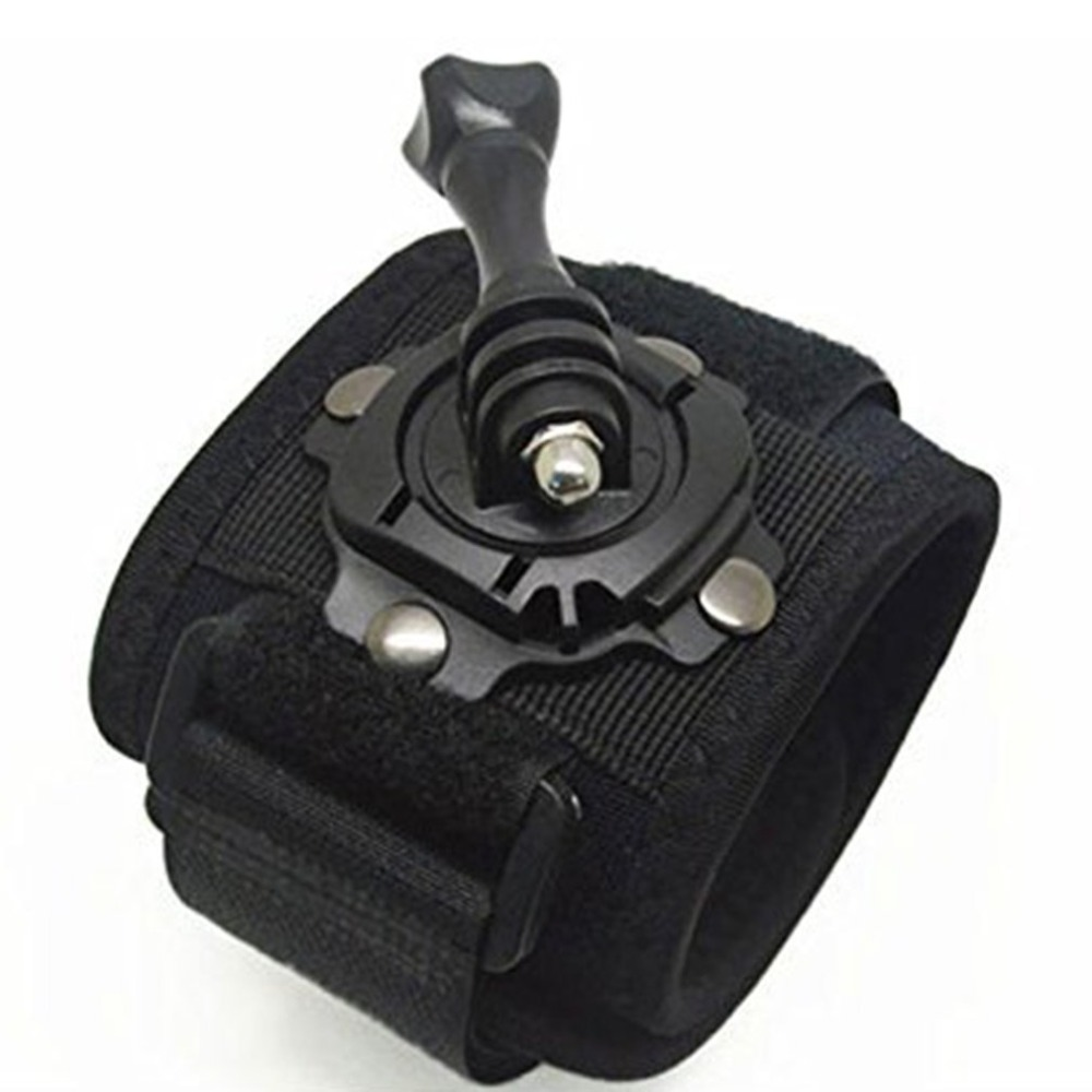 Rotating 360 Degree Housing Wrist Hand Strap Band Mount For Gopro Hero 1 2 3 3+ 4 5 Sports Camera Accessories DropShipping
