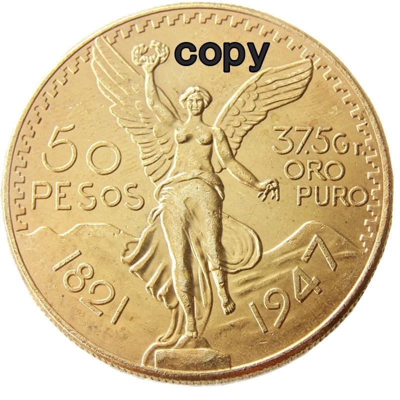 1921 1947 10 ชิ้น/ล็อตเม็กซิโกทอง 50 เงินเปโซของหยอดเหรียญเหรียญ-ใน เหรียญที่ไม่ใช่สกุลเงิน จาก บ้านและสวน บน AliExpress - 11.11_สิบเอ็ด สิบเอ็ดวันคนโสด 1