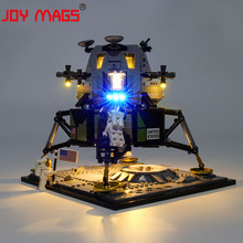 JOY MAGS Only Led Light Kit For Creator Apollo 11 Lunar Lander Lighting Set Compatible With 10266 (NOT Include Model)