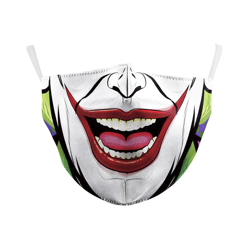 The Joker Face Mask Cosplay Adult Dustproof Masks