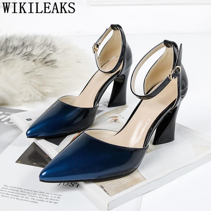 Ladies Pumps Women Shoes Luxury Heels