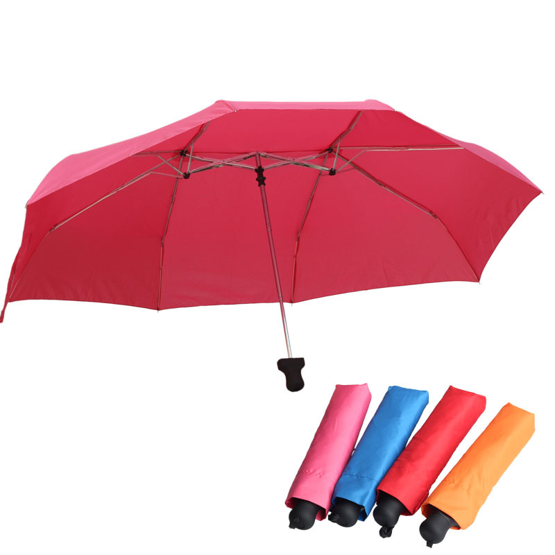 HONDAR Umbrella Folding Umbrella Three Fold Double Couples Cool Couples Umbrella Creative Customizable Advertising Umbrella Sun-