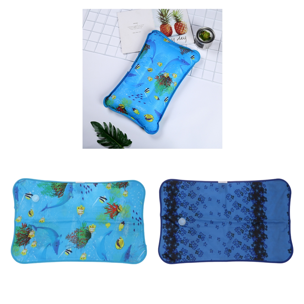Cool Gel Cold Pillow For Sleeping - Cooling Water Cushion Mat For Summer That Stay Cold For Hot Sleepers - 55x35cm