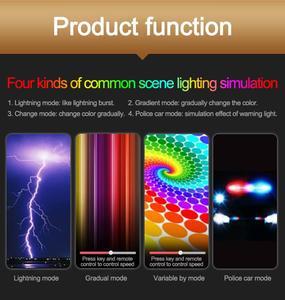 Image 2 - 8 Вт 3000K дистанционное управление вспышка стержень фото светодиодный светильник ing IP68 Водонепроницаемый Кемпинг Светильник RGB флэш светильник для фотографии дайвинга