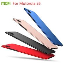For Motorola E6 Case Cover MOFI Hard pc Moto e6 Phone Shell Fitted moto