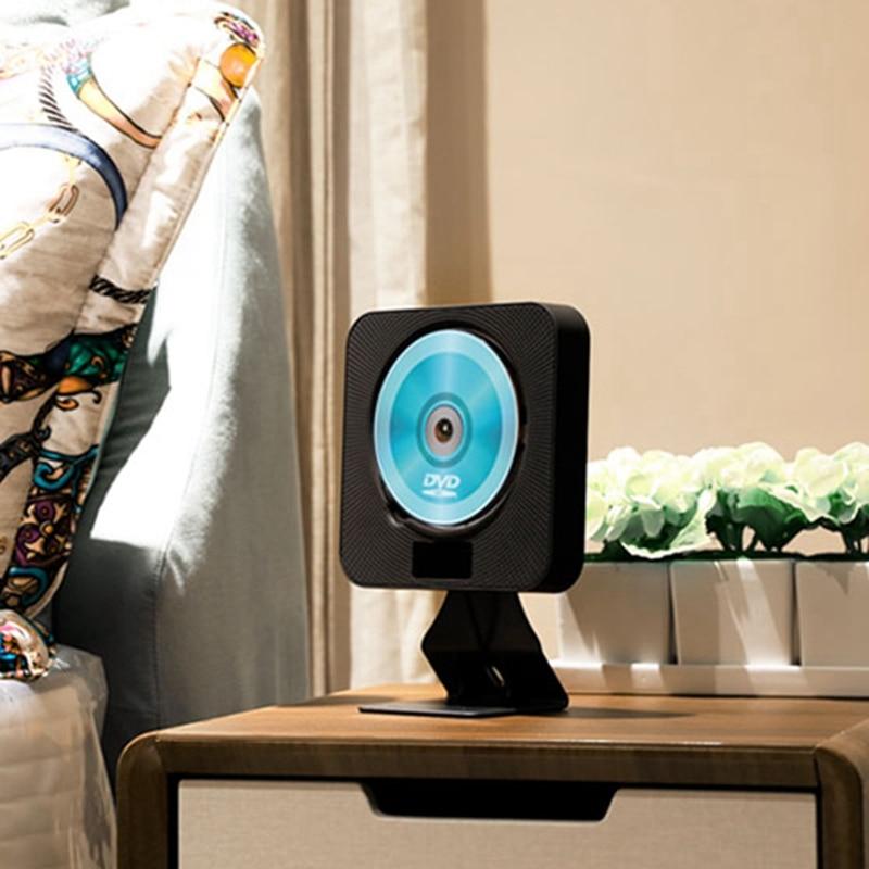Lecteur CD mural Bluetooth EU prise Audio Boombox HDTV 1080P maison avec télécommande et Radio FM et minuterie USB et AV O