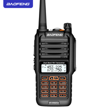 Baofeng UV-9R Plus Waterproof  Anti Dust Walkie Talkie   IP67 18W Two Way Radio 10km Range  8800mAh battery UV9R Plus