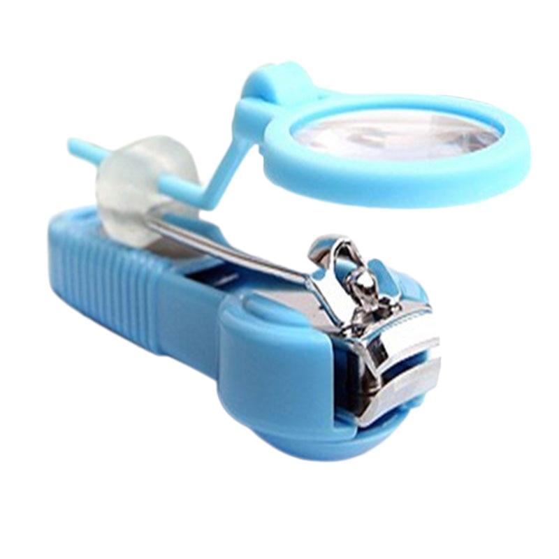 Finger Magnify Trimmer Magnifier Finger Pedicure Tool Nail Toe Clipper Nail Cutter Scissor Manicure Toenail