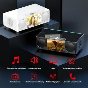 Image 3 - SOAIY S99 سمّاعات بلوتوث HiFi مكبر الصوت اللاسلكي ستيريو الصوت مضخم الصوت أفضل مكبر الصوت 8000mAH قوة البنك مشغل فيديو