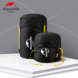 NatureHike Compression Stuff Sack Water Resistant & Durable - Shrinks Bulky Items - Great for Packing Sleeping Bag Clothes Towel