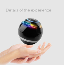 New Smart Spherical Bluetooth Speaker LED Light-emitting Bass Portable Stereo Hands-free ABS Wireless Bluetooth Support TF Card аудио колонка bluetooth sruppor tf bluetooth speaker
