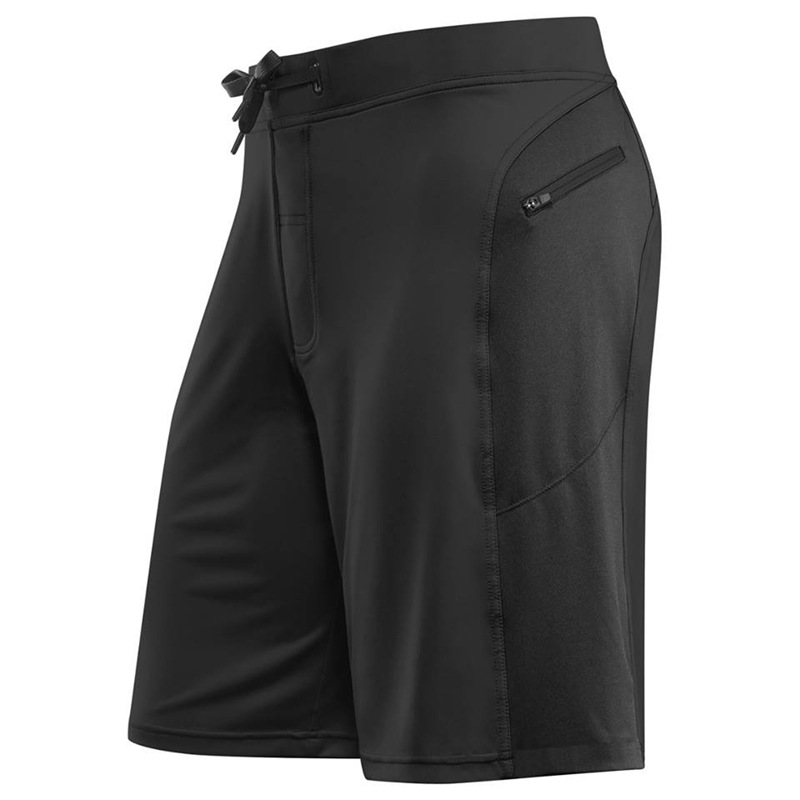 running - GITF 2020 Sports training running shorts Men Fitness stitching gym outdoor zipper shorts quick-drying male beach shorts
