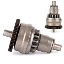Hot Sale Starter Motor Kopling Gear Perakitan untuk GY6 50/80cc 139QMB Skuter Moped ATV(China)
