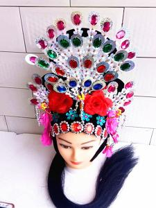 Headdress Drama Northeast Yangge Fairy Miss-Bride's Princess Corolla