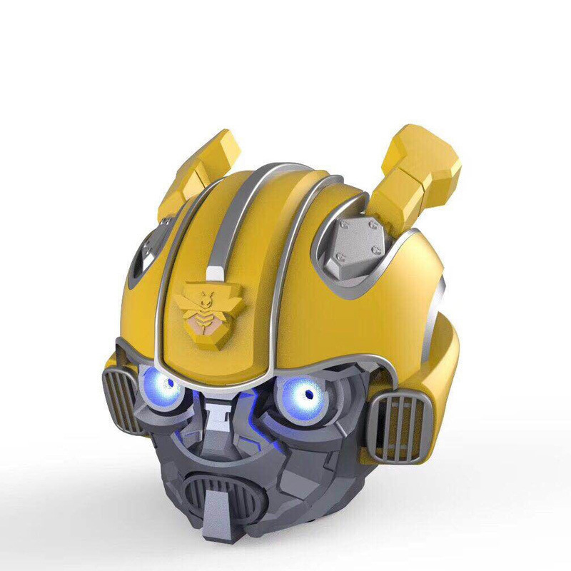 Wireless Pc Bumblebee <font><b>Bluetooth</b></font> TF Card <font><b>Speaker</b></font> Audio Subwoofer Card Subwoofer Portable Handsfree FM Radio Boombox F4041 image