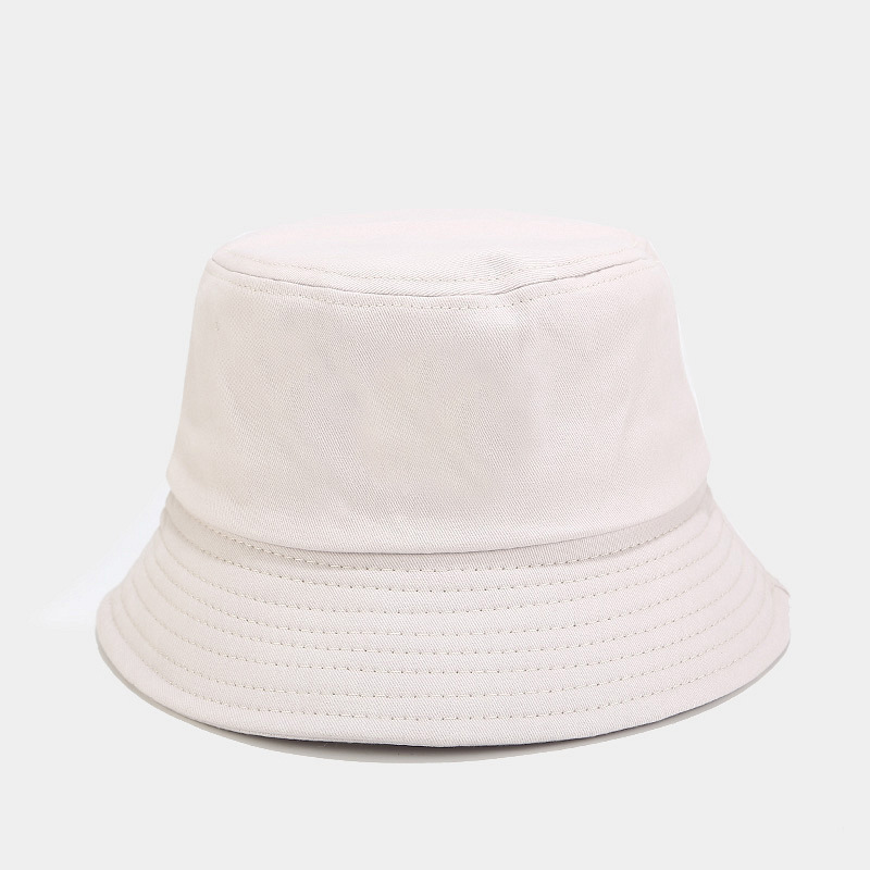 Unisex Summer Foldable Bucket Hat Women Outdoor Sunscreen Cotton Fishing Hunting Cap Men Bob Chapeau Sun Hats