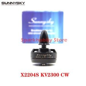 Sunnysky x2204s 2300kv cw motor sin escobillas cw mini qav210 quadcopter qav250 rc zangão fpv modelo de corrida partes diy acessórios