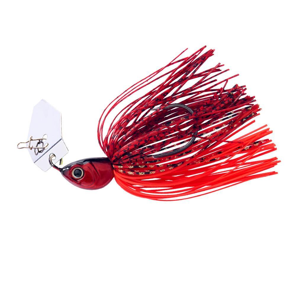 Original Micro Chatterbait 14g Chatter Bait Fishing Lure  Pike Bass Fishing Lure Buzz Bait Buzzbait-4
