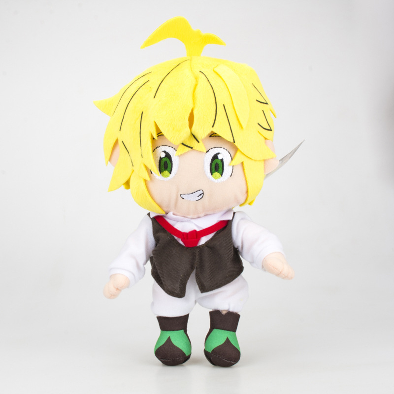 The Seven Deadly Sins Nanatsu No Taizai Fox's Sin Of Greed Ban Meliodas Hawk Pig Soft Stuffed Animal Plush Doll Toy For Kid Gift image