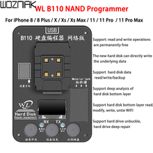 WL B110 NAND Programmer SN Read Write Data Tool for iPhone 8 8p x xs xsmax 11 11