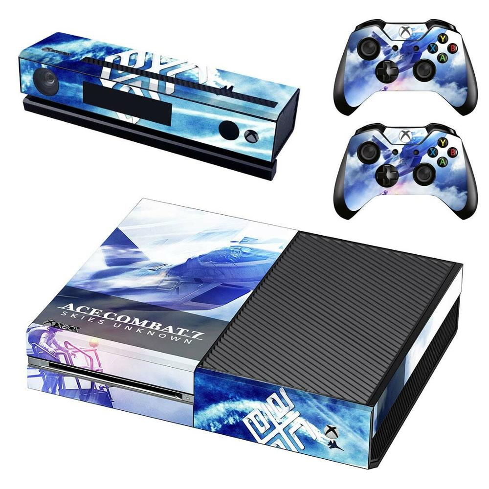 Sticker Skins Console Kinect Pegatinas Two-Controller Ace Combat Xbox-One Vinyl for Adesivo title=