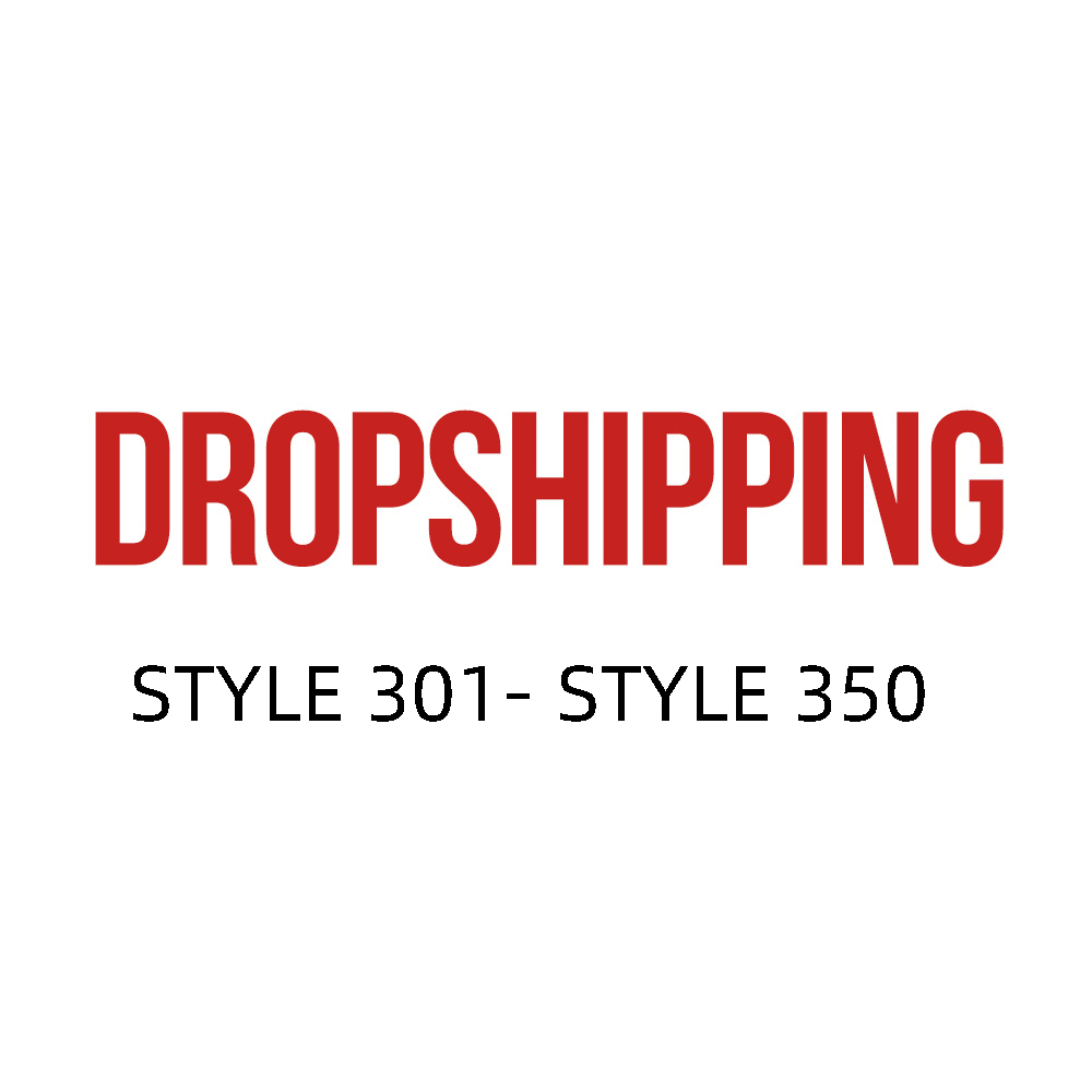 US DROPSHIP LINK ADULT STYLE 301-STYLE 325