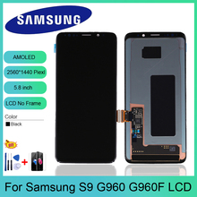 5.8 inches ORIGINAL S9 Replacement for SAMSUNG Galaxy S9 G960 LCD Touch Screen Digitizer G960 G960F display Assembly+Gift куртка onttno g960 2014