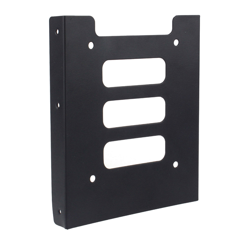 Useful 2.5 Inch SSD HDD To 3.5 Inch Metal Mounting Adapter Bracket Dock Screw Hard Drive Holder For PC Hard Drive Enclosure 6