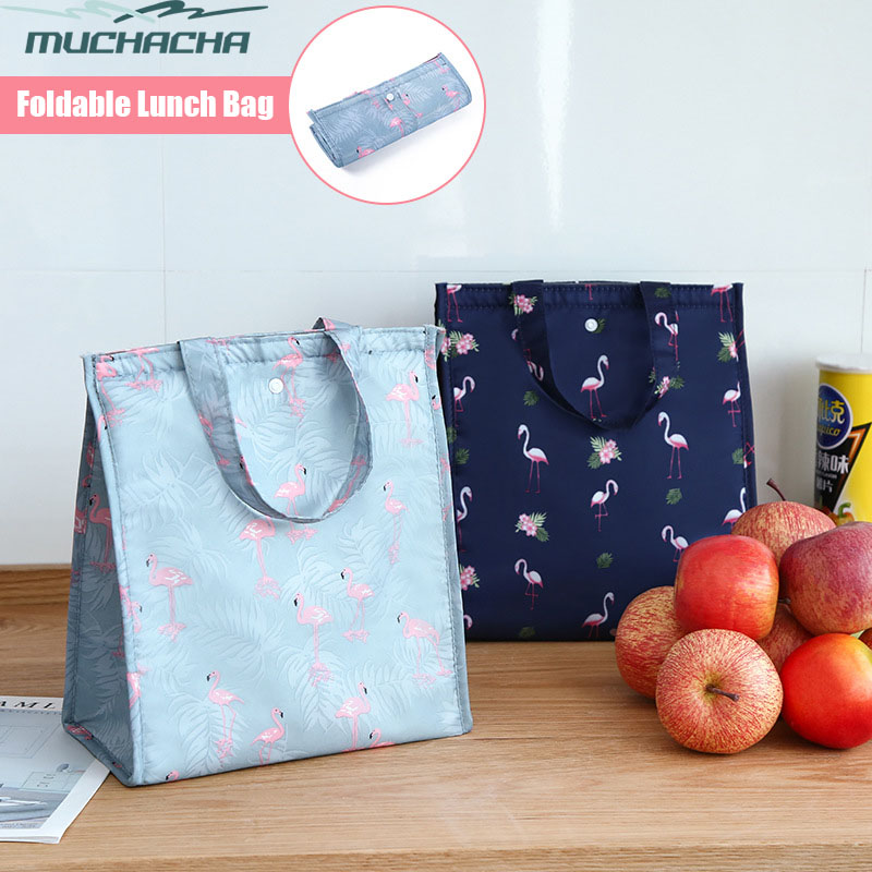 Dropship Large Capacity Cheap Food Thermal Insulated Snack Picnic Bag Cooler Fresh Travel Portable Foldable Shoulder Lunch Bag
