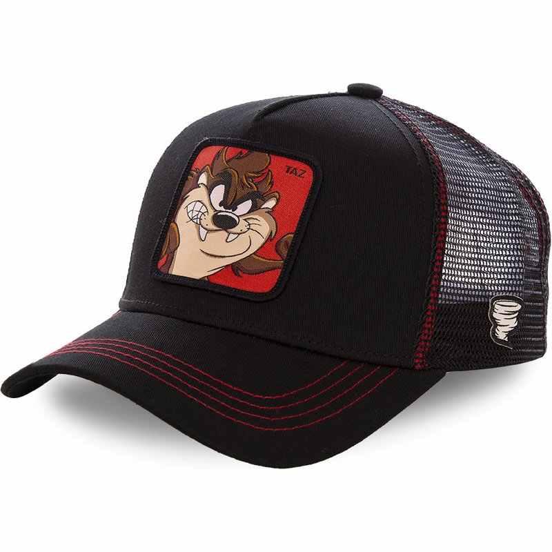 Hohe Qualität Anime Dragon Ball Hysterese TAZ Und Maus Baumwolle Baseball Kappe Männer Frauen Hip Hop Papa Mesh Hut Trucker hut Drop