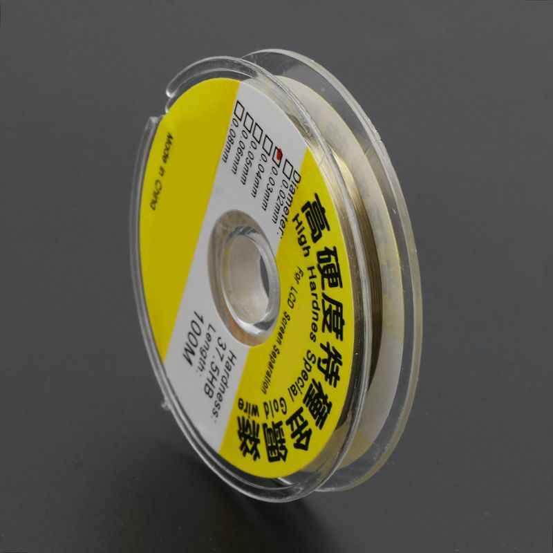 2020 New 100M Hợp Kim Vàng Molypden Cắt Dây Dòng Màn Hình LCD Hiển Thị Màn Hình Cảm Biến Tách Sửa Chữa