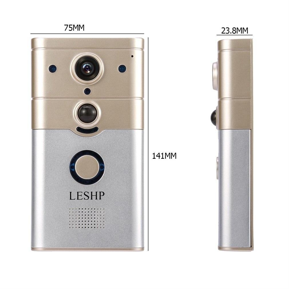 Smart IP vidéo interphone WI FI vidéo porte téléphone porte cloche WIFI sonnette caméra pour appartements IR alarme sans fil caméra de sécurité - 6
