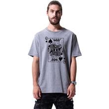 Alien Queen Of Spades T-Shirt 2019 new streetwear mens short-sleeved T-shirt