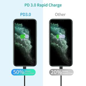 "Image 2 - CHOETECH USB סוג C פ""ד מטען 18W עבור iPad iPhone 11 פרו מהיר תשלום 4.0 QC 3.0 מהיר קיר מטען עבור huawei סמסונג xiaomi"
