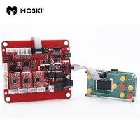MOSKI  обновленная плата управления гравировальным станком с ЧПУ и usb-портом  3 оси управления  Лазерная гравировальная плата  GRBL контроль
