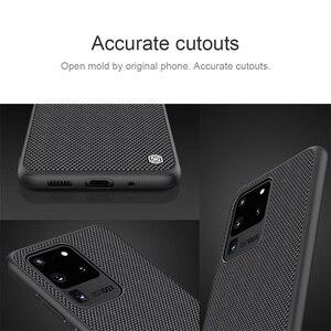 Image 5 - עבור סמסונג גלקסי Samsung Galaxy S20 Ultra S20+ Plus 5G בתוספת מקרה NILLKIN מרקם ניילון סיבי מקרה החלקה דק וקל כיסוי אחורי עבור Samsung S20