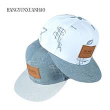 2019 New Denim Cotton Cloth Hat Posted Letters Casual Cool Graffiti Hip Hop Baseball Cap Snapback Caps Hats For Woman Men Bone все цены