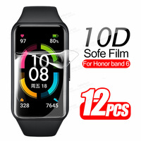 10D 12PSC TPU Soft Film For Huawei Honor Band 6 Screen Protector On Honor Band6 Full Curved Portective Films Not Tempered Glass 1